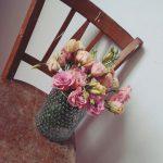 Samstagmorgen Wochenmarkt und Blumen