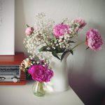Samstagmorgen Markt und Blume