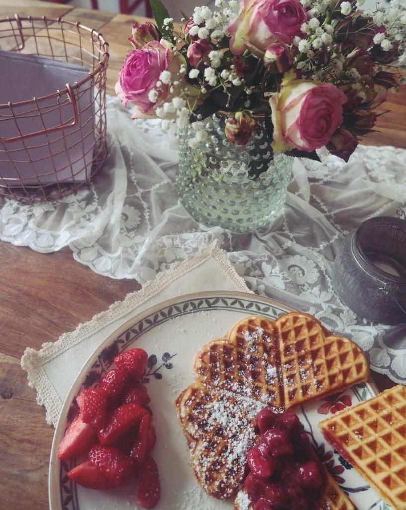 Rhabarber-Erdbeer Kompott