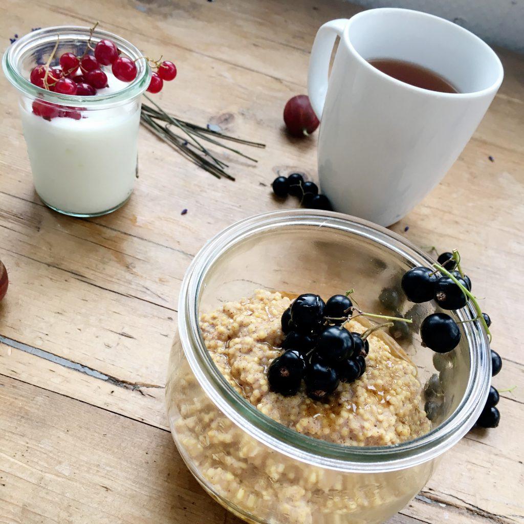 Hirse zum Frühstück